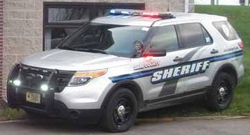 Dane County Sheriff's Office squad car tight crop