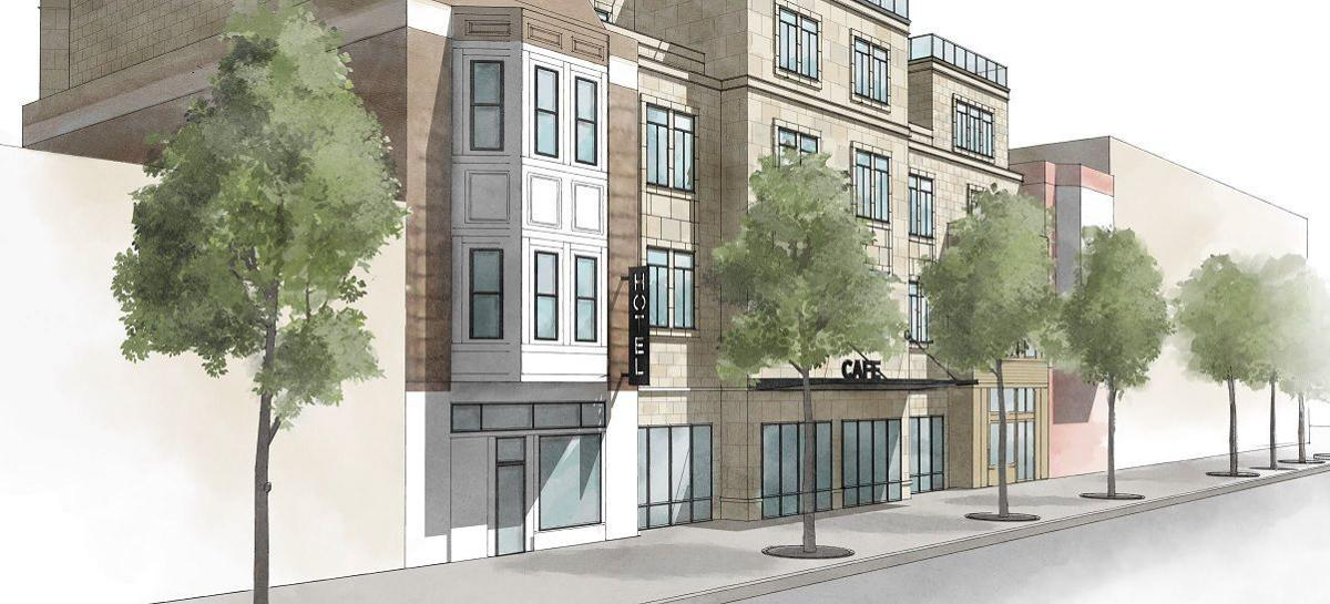 Revised State Street hotel proposal