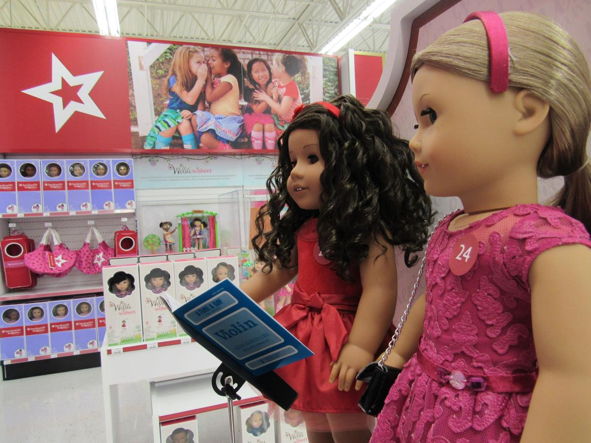 American Girl at Toys R Us