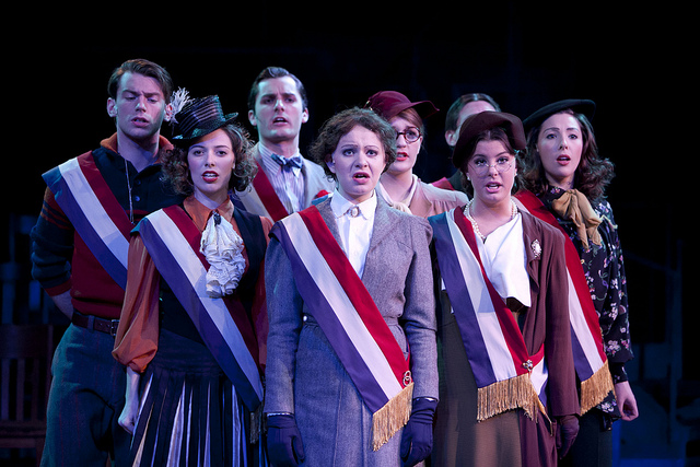 Madison Square Garden: Theater Review: University Theatre's 'The Cradle Will Rock