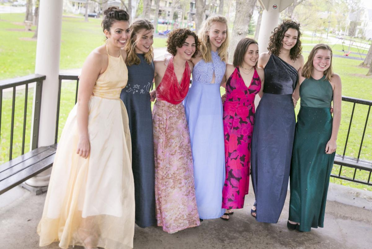 East High School junior finds use for her stash of fabric: Prom ...