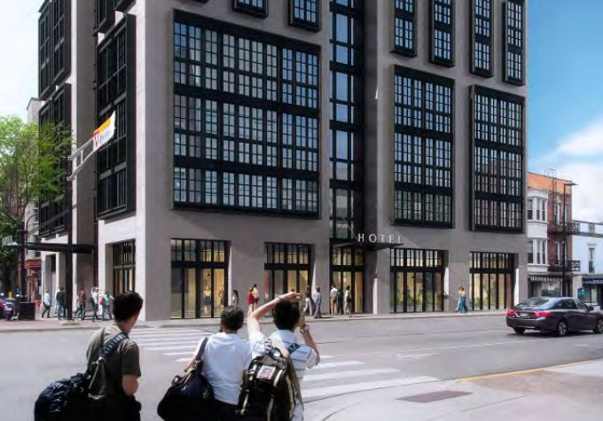 State Street hotel, new renderings