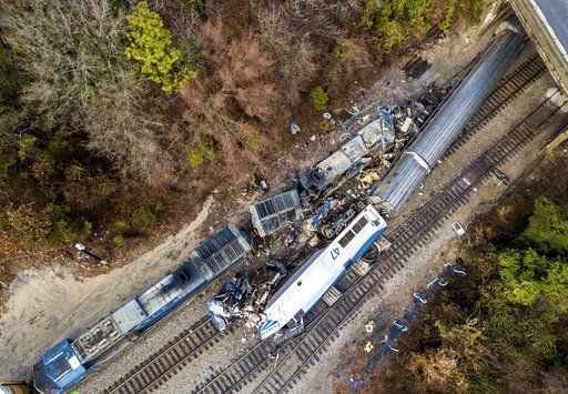 Who's at fault in Amtrak crash? Amtrak will pay regardless (copy)