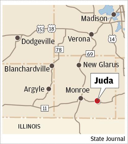 Juda map