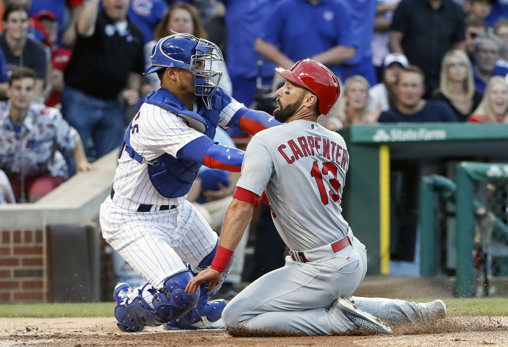 Contreras home run gives Cubs series over Cardinals, division lead