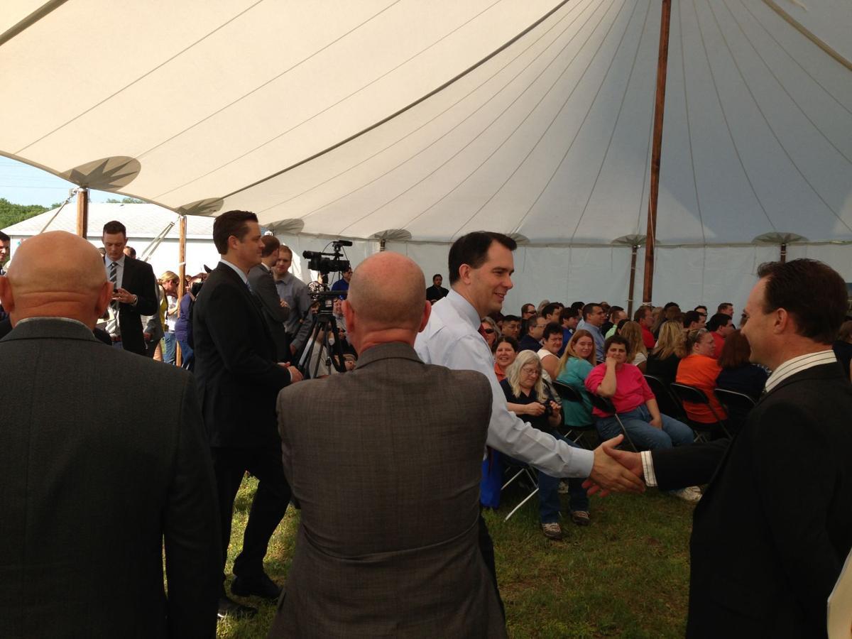 Walker at event