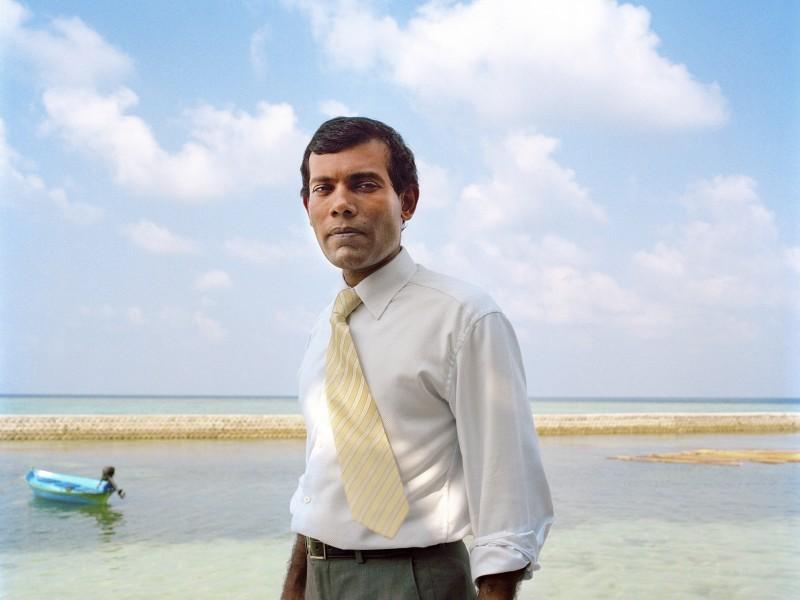 The Island President. Mohamed Nasheed