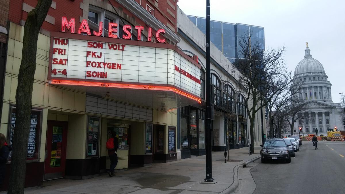 Outside Majestic Theatre
