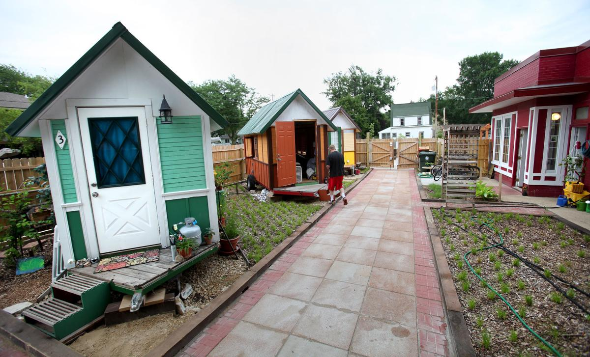 occupy madison u0027s tiny houses village looking to add more homes and