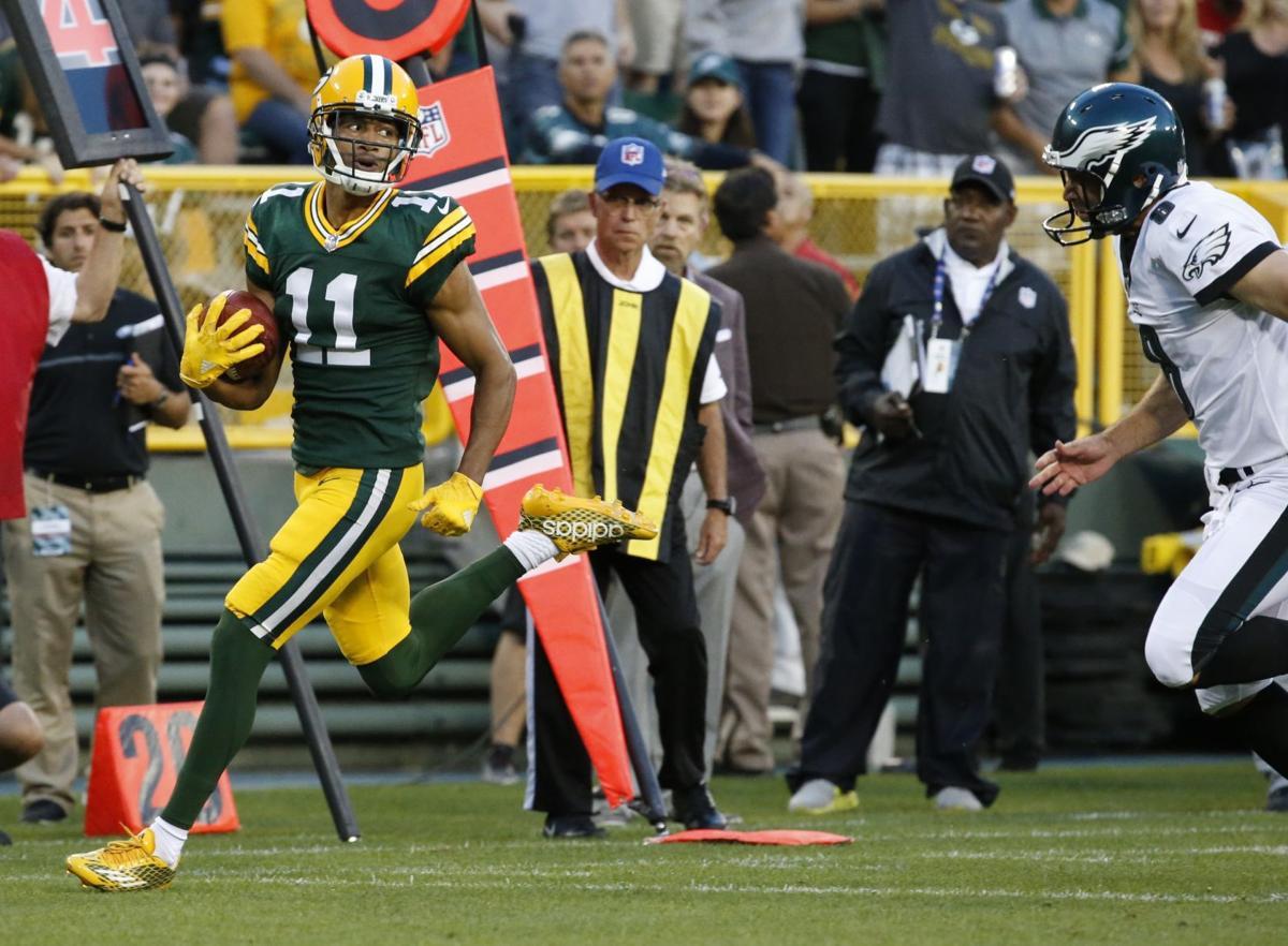 Trevor Davis Eagles vs. Packers