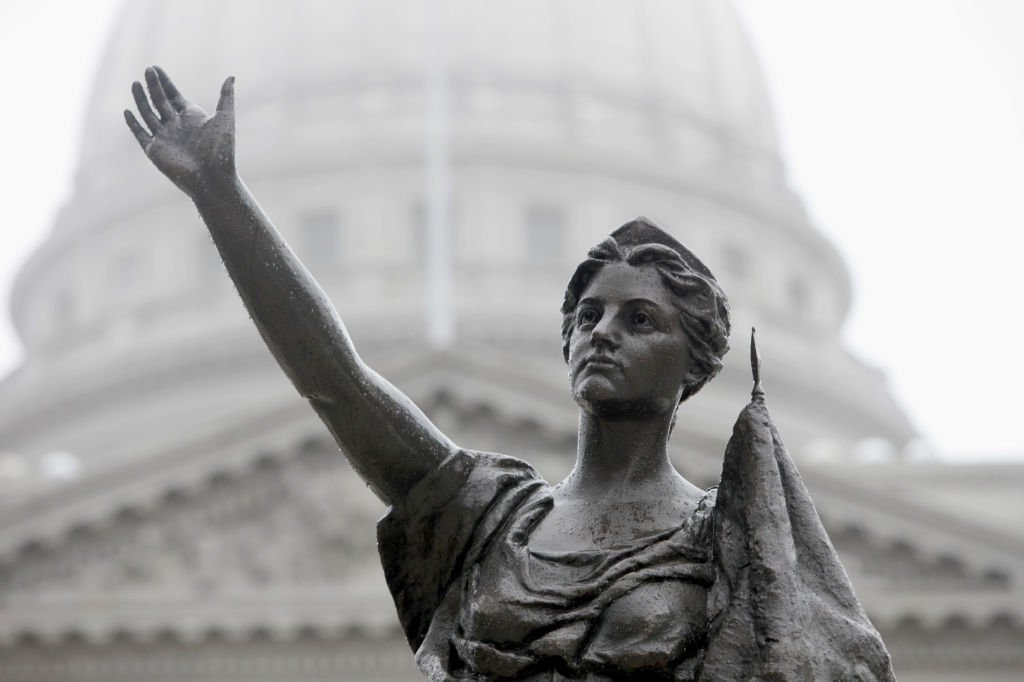 Madison in 100 objects: Forward statue