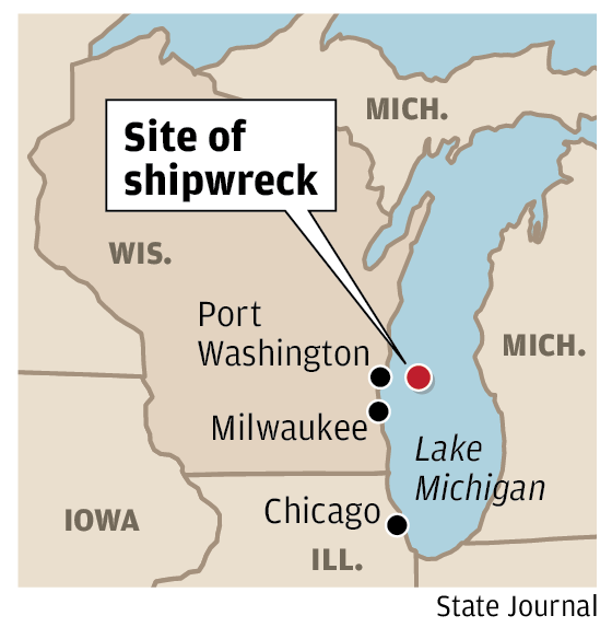 Site of shipwreck