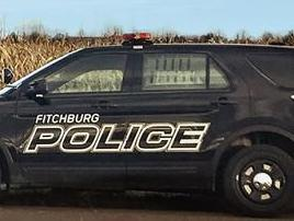 Fitchburg Police squad car tight crop