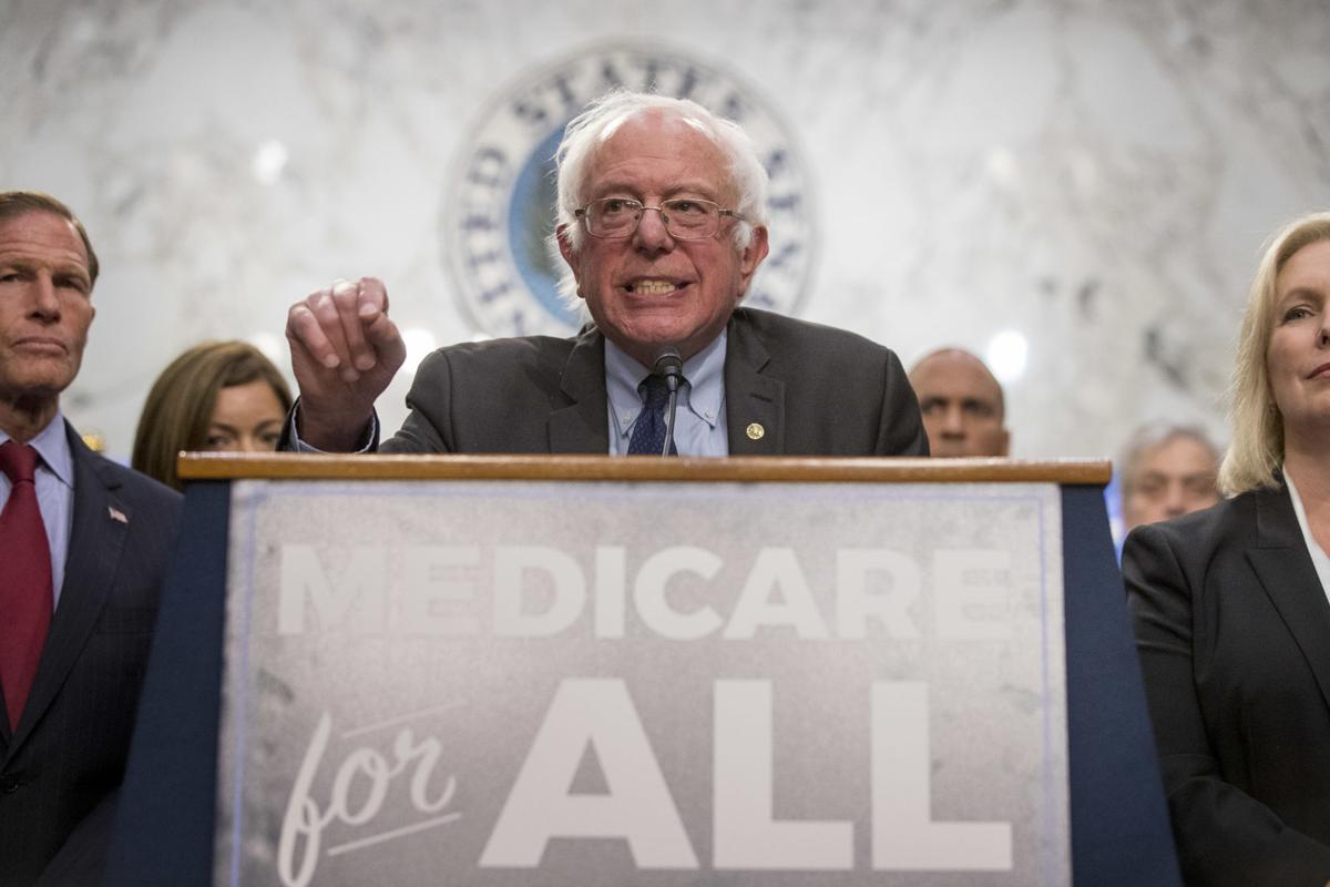 Bernie Sanders unveils 'Medicare for all' bill