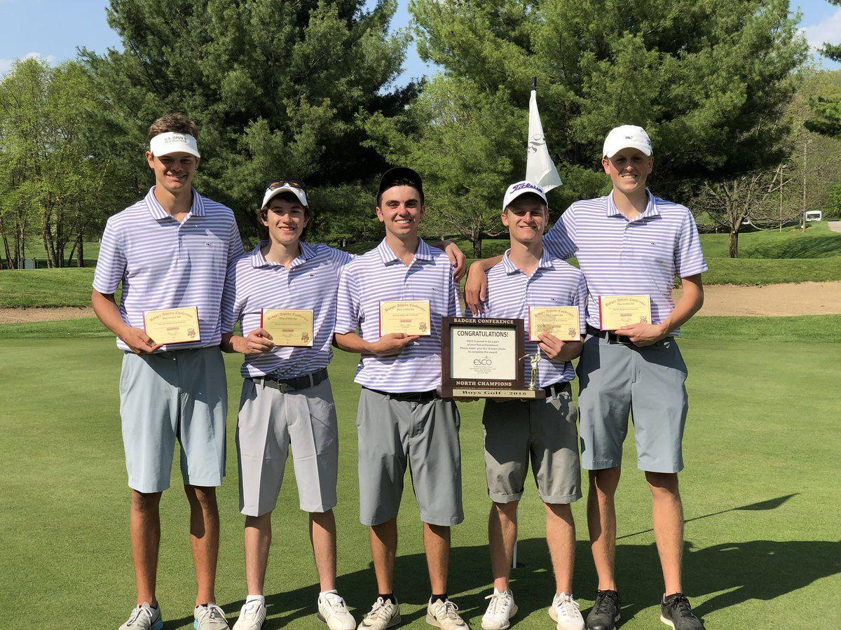 Waunakee boys golf team wins Badger North Conference title