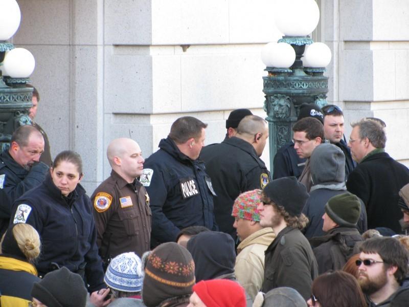 Capitol standoff