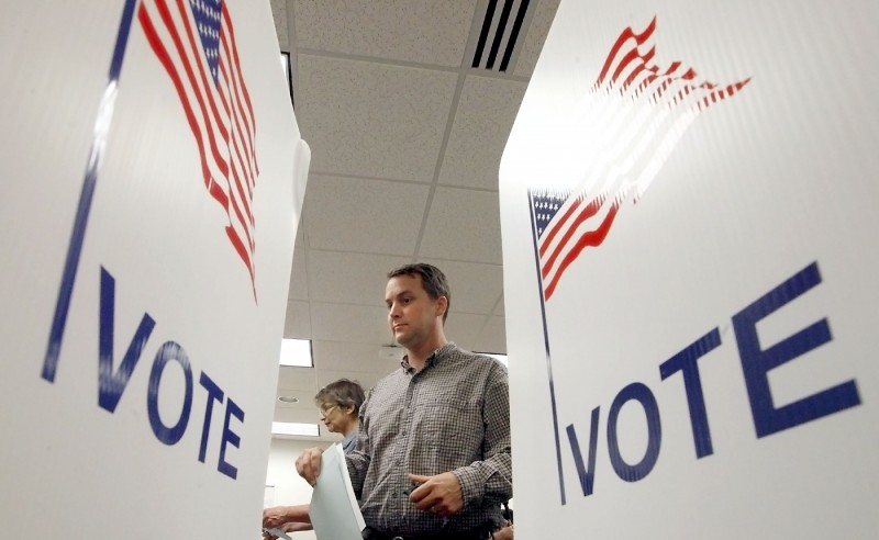 vote mock election voter id training file photo