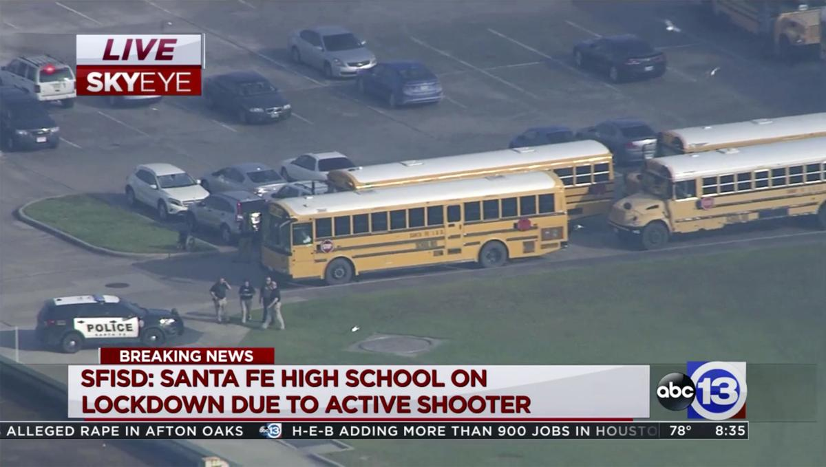 School Shooting-Texas