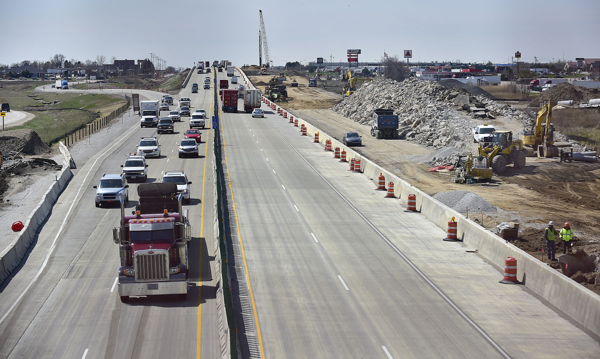 Interstate 94 construction
