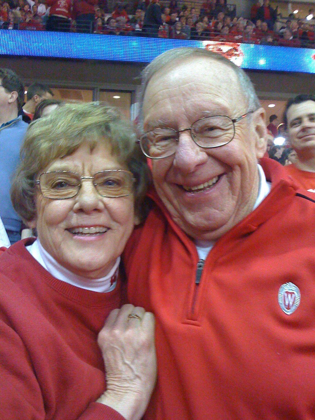 Carolyn and Glenn Borland