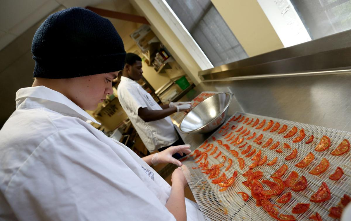 Goodman Center\'s food preservation kitchen helps stock its food ...