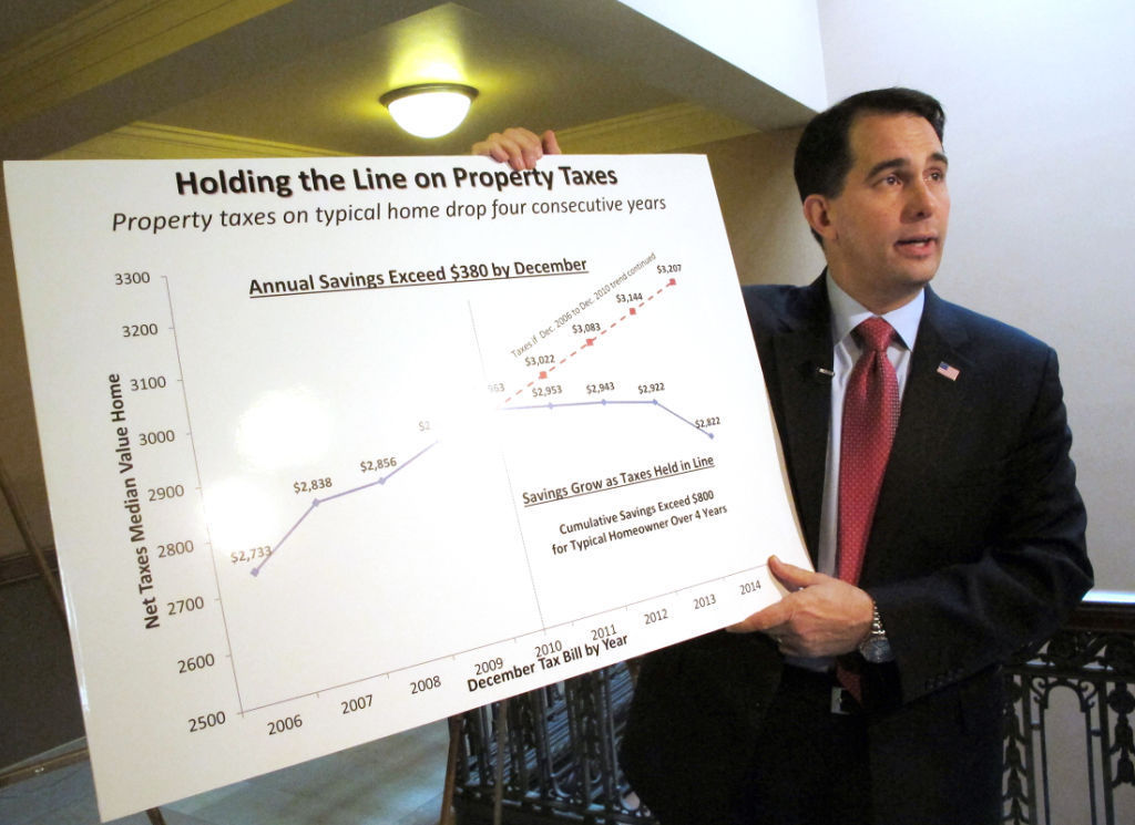 State budget lowers property taxes $1 this year, $2 next year
