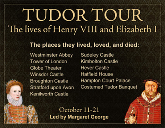 Margaret George's tour