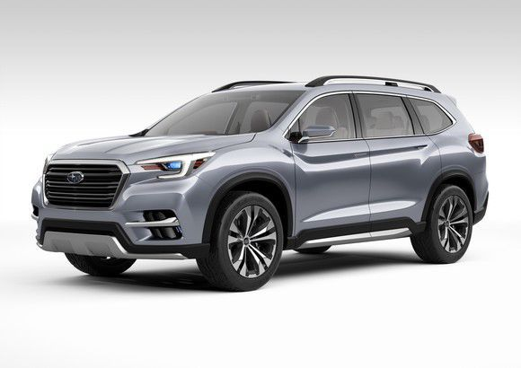 2018 Subaru Ascent >> How the 2019 Subaru Ascent Will Finally Challenge Ford's Explorer | Business Markets and Stocks ...