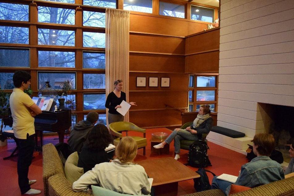Anna Andrzejewski teaches Art History at the Walter and Mary Rudin House