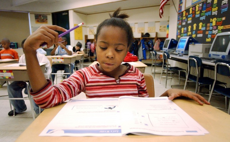 elementary school standardized test file photo