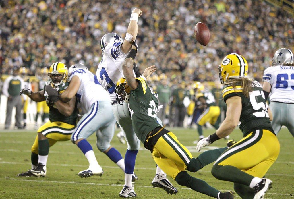 Charles Woodson with Packers, State Journal photo