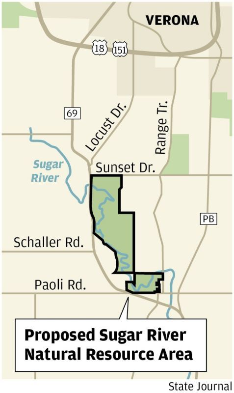 Sugar River county land acquisition map 0115