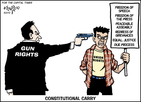 the second amendment the two different opinions on gun laws in america The second amendment of the united people don't have to obey all the regular gun laws that the second amendment guarantees america's founding.