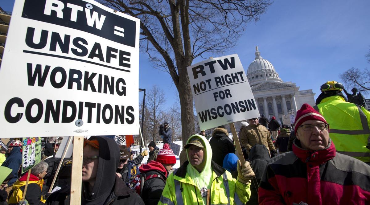 RTW protest