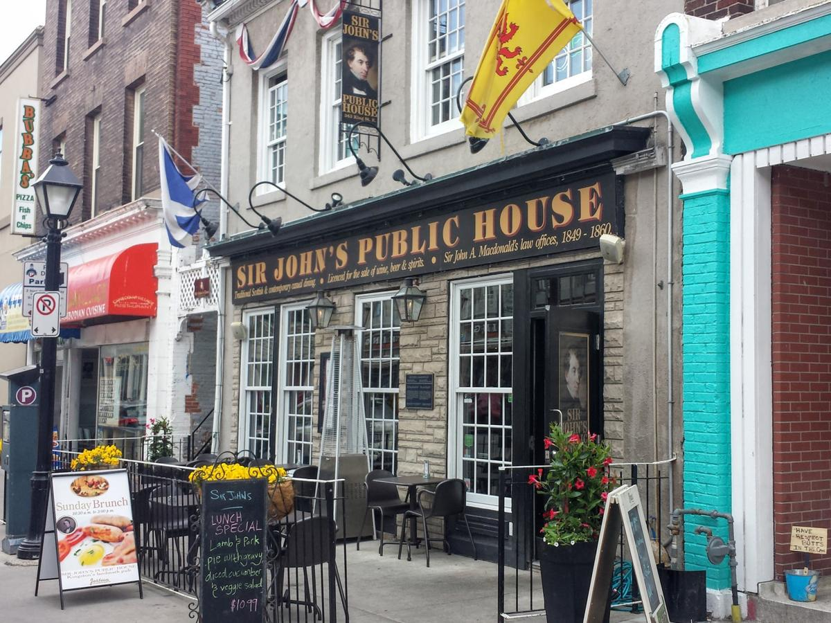 Sir John's Public House in Kingston, Canada