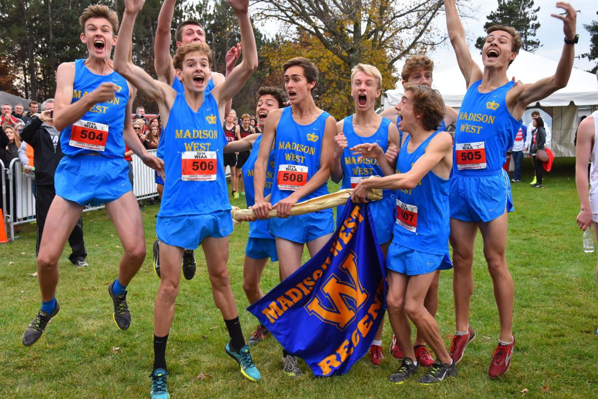 WIAA state cross country photo: Madison West team