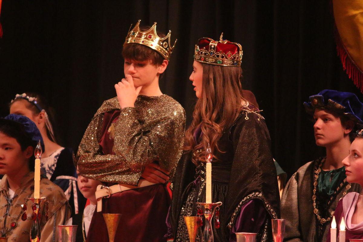 Oregon Middle School Madrigal OREGON MIDDLE SCHOOL MADRIGAL