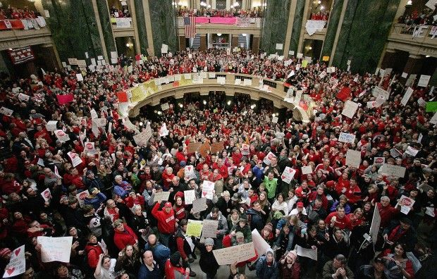 Wisconsin considering right-to-work legislation