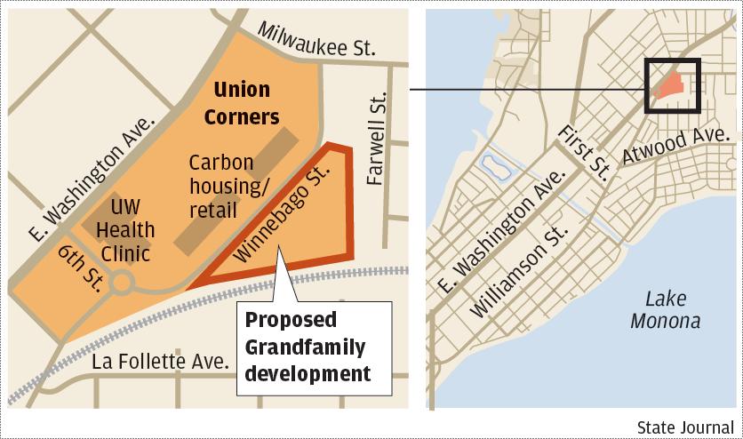 Union Corners Grandfamily map