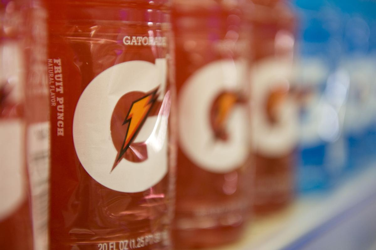 Gatorade bottles