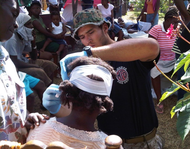 Jake Wood, Haiti Earthquake relief