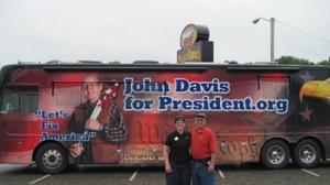 Visit from John Davis