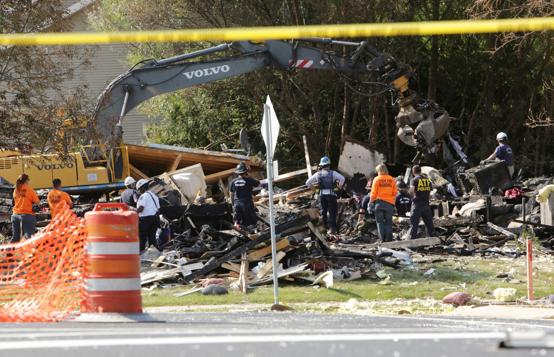 Home explosion victim identified, cause of death ruled homicide
