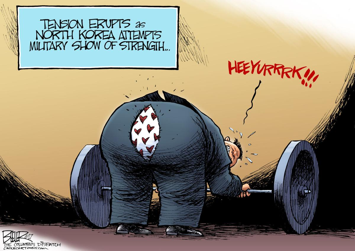 North Korea (With images) | Editorial cartoon, Cartoon ... |Current Political Cartoons North Korea