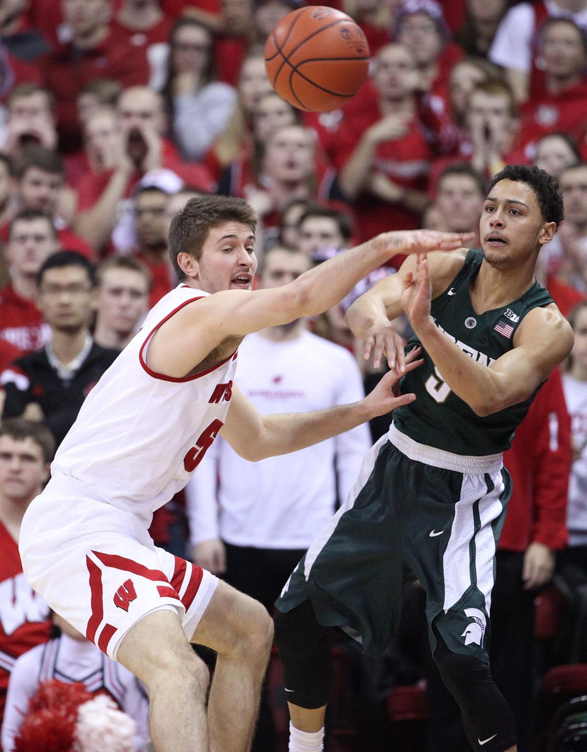 Badgers men's basketball: Aaron Moesch 'story' starting to ...