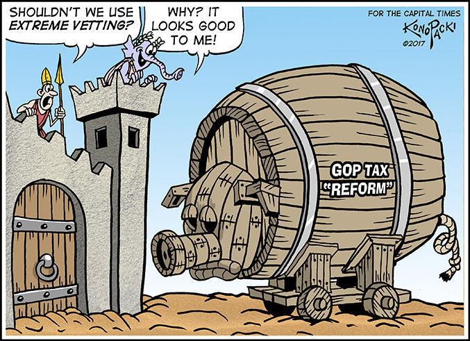 Editorial cartoon (11/8/2017)