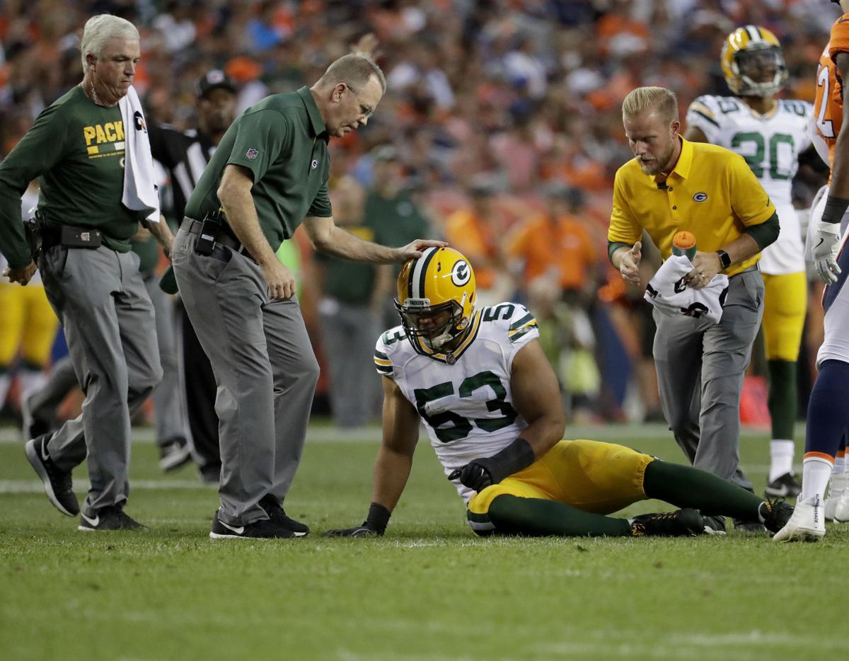 Nick Perry preseason injury, AP photo