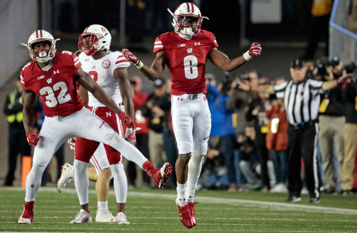 Badgers Football Linebackers Ryan Connelly Leon Jacobs