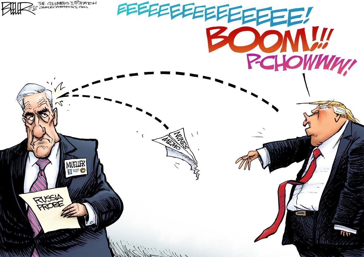 Image result for cartoons trump mueller
