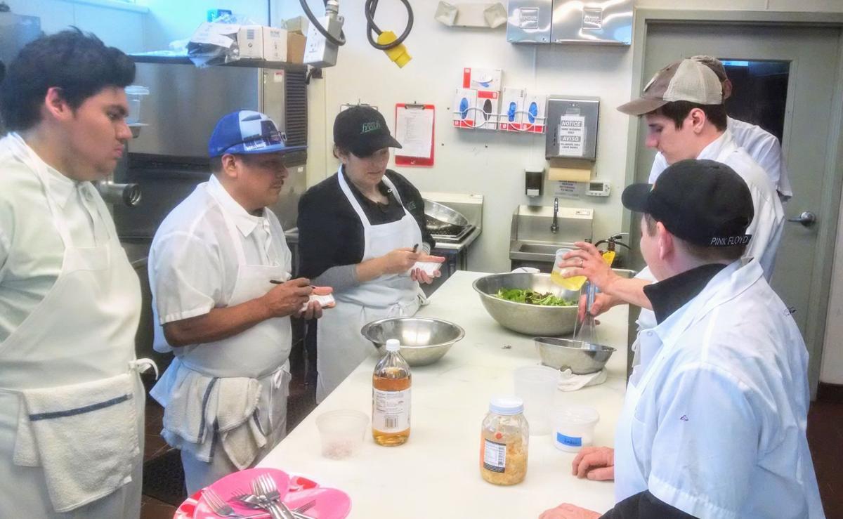 FoodWorks First Course pilot class
